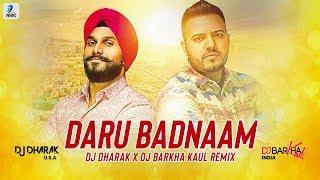 Daru Badnaam (Remix) | Kamal Kahlon | Param Singh | DJ Dharak | DJ Barkha