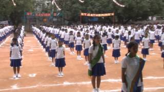 St Francis Xavier Girls High School Sports Day Full part 1