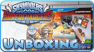 Let's Play Skylanders SuperChargers Part 0: Wii U Starter Pack Unboxing!