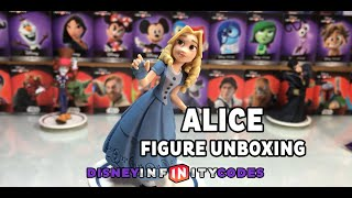 Alice Unboxing from Alice Through The Looking Glass for Disney Infinity 3.0