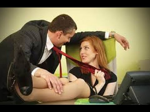 Sex with Female Boss In The Office