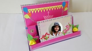 Handmade Gift Ideas : How To Make DIY Pop Up Birthday Greeting Card  | Mothers Day Cards