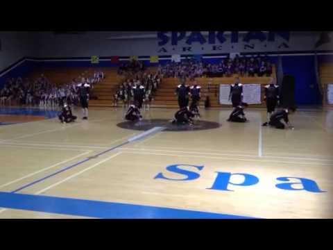 Central Union HS Spar-Teen Drill Team 2013