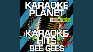 Lonely Days (Karaoke Version With Background Vocals) (Originally Performed By Bee Gees)