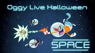 Oggy and the Cockroaches - Live Halloween Compilation #Space