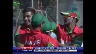Short Highlights: Bangladesh vs Zimbabwe 1st ODI @ Bulawayo (03.05.13)