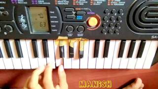 Bai vadyavar ya song on piano by Sushant Dalvi & Manish Mishal