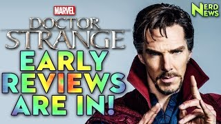 Doctor Strange Reviews are IN!
