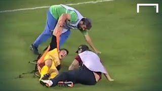 Unbelievable stretcher fail
