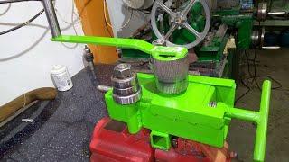 Homemade Bending Machine / Giętarka samoróbka