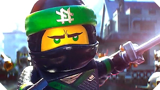 THE LEGO NINJAGO MOVIE Trailer (Animation, 2017)