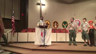 Troop 62 Eagle Scouts saying