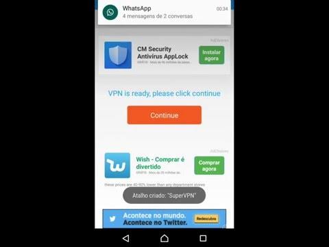 Como fazer o WhatsApp voltar usando super vpn