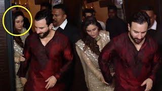 Kareena Kapoor CAUGHT DRUNK With Saif Ali Khan At Anil Kapoor's Diwali Party