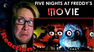 Five Nights At Freddy's The Movie (Fan Made) REACTION!   THEY LOOK TOO REAL!!!  