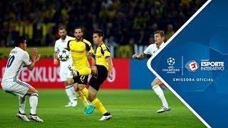 Melhores Momentos - Borussia Dortmund 2 x 2 Real Madrid - Champions League (27/09/2016)