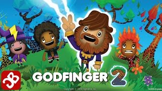 GodFinger 2 (By Jiggery Pokery) - iOS/Android - Gameplay Trailer
