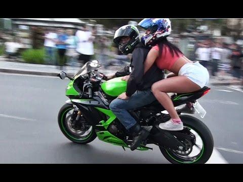Motos esportivas acelerando em Curitiba Parte 41