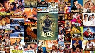 Shahrukh khan all Movies  from DEEWANA TO RAEES ||sharukh khan hits full movies