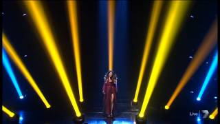 Samantha Jade: 1st song of the night - The X Factor Australia 2012 Grand Final 19-11-2012 (HQ)
