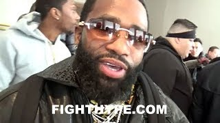 ADRIEN BRONER ON SPENCE VS. PETERSON; ADMITS IT'S HARD TO WATCH HIS FRIENDS FIGHT