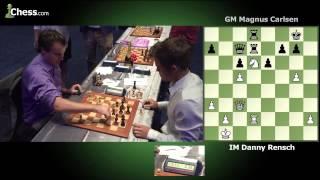 Magnus Carlsen (1 minute) vs Daniel Rensch (2 minutes) Game 3