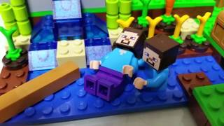 마인크래프트 레고 눈물 바다 1편