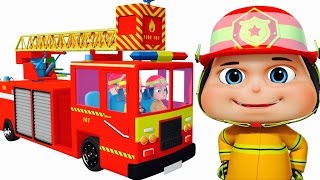 Zool Babies As Fire Fighters - Part 2   Cartoon Animation For Children   Comedy Series For Kids