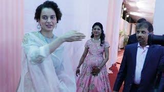 Kangana Ranaut STOPS media from entering her friend