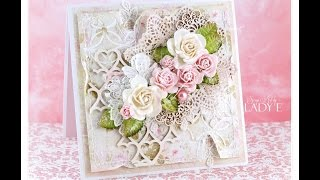Romantic Shabby Chic Card Tutorial Wild Orchid Crafts