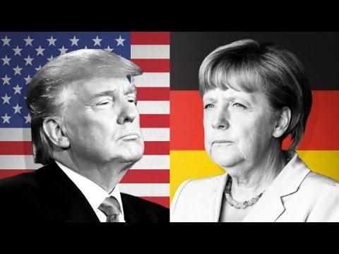 Trump vs Merkel