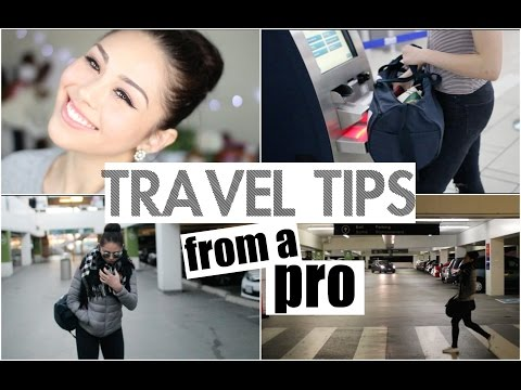 My Travel Makeup Routine & Travel Essentials What s in My Carry On Bag Roxette Arisa