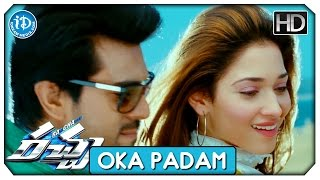 Racha Full Video Songs HD - Oka Padam Song | Ram Charan | Tamannaah | Mani Sharma | Hemachandra