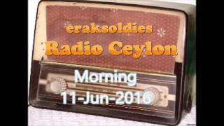 Radio Ceylon 11-06-2016~Saturday Morning~01 Ek Aur Anek - Surinder Kaur & Sandhya Mukherjee