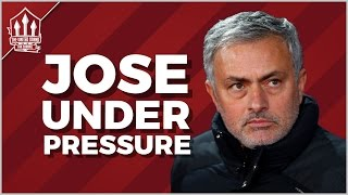 MOURINHO Admits It's WIN or BUST! MAN UTD NEWS