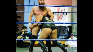Seleziya Sparx VS. Matt Cross - Absolute Intense Wrestling [Intergender Wrestling]