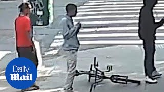 NYPD searching for suspected Trinitarios gang members