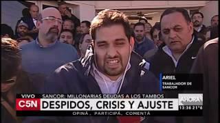C5N - Sociedad: Despidos, crisis y ajuste en Sancor