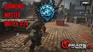 Ranked Diamond Master Escalation Match #24 | Gears Of War 4 Multiplayer Gameplay