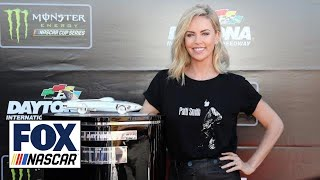 Charlize Theron ready to wave the green flag for the Daytona 500 | NASCAR RACEDAY