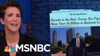 Donald Trump Red Line Failing Despite Urgency To Keep Finances Opaque | Rachel Maddow | MSNBC