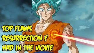 Dragon Ball Z Resurrection F Top Flaws That Should Be Fixed in Dragon Ball Super