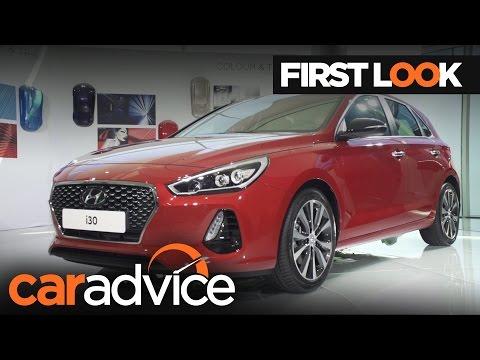 2017 Hyundai i30 First Look Review | CarAdvice
