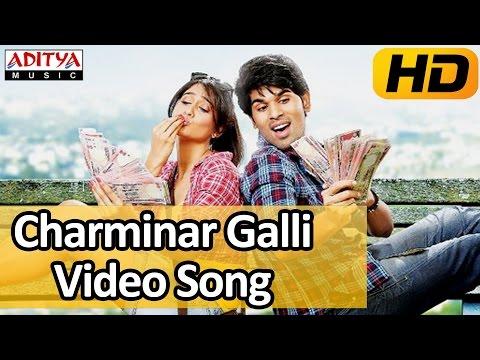 Kotha Janta Video Songs || Charminar Galli Song || Allu Sirish, Regina Cassandra