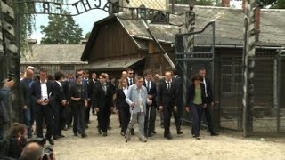 German Foreign Minister Heiko Maas visits Auschwitz