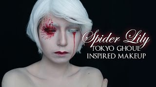 Spider Lily | Tokyo Ghoul-Inspired Makeup Tutorial