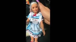 Vestuario de Alicia para Barbie