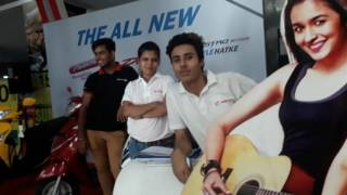 Hero activity promoting EDM mall