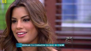 Entrevista Miss Colombia 2015 Ariadna Gutierrez en Muy Buenos Dias