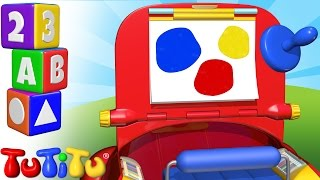 TuTiTu Preschool | Learning Colors for Babies and Toddlers | Drawing Kit
